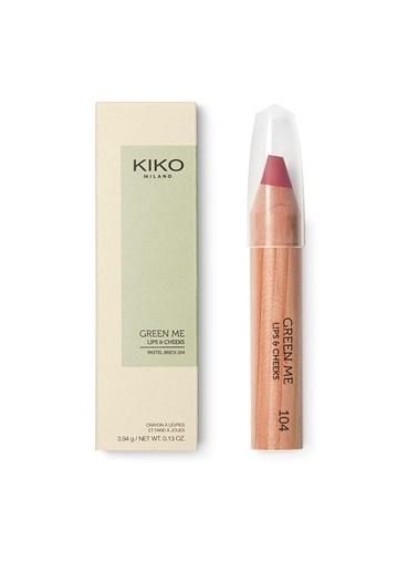 KIKO Milano Green Me Lips & Cheeks 2019 - 004 Pembe
